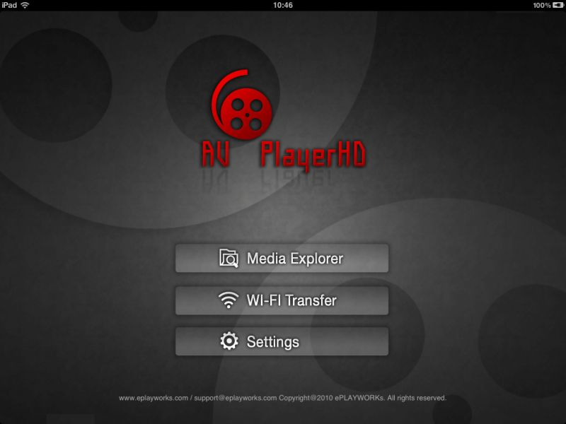 AVPlayer HD (iPad)