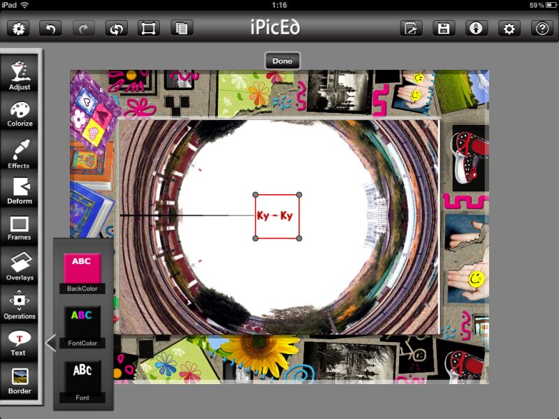 iPicEd for iPad